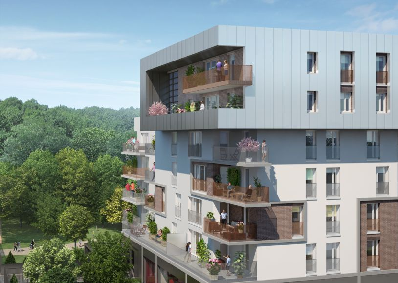 Achat appartement neuf immobilier neuf tremblay en france - Piscine delaune tremblay ...
