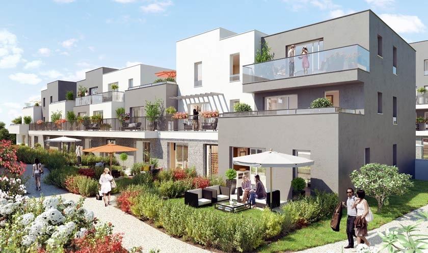 Appartements et maisons neufs eragny sur oise for Appartement neuf 95