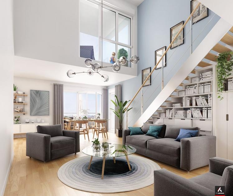 Achat appartement neuf immobilier neuf asnieres sur seine for Acheter appart