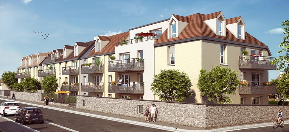 Achat appartement neuf immobilier neuf pontault combault for Garage de la francilienne pontault combault