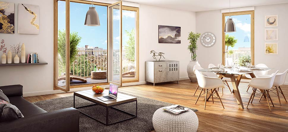 achat appartement neuf massy immobilier neuf massy. Black Bedroom Furniture Sets. Home Design Ideas